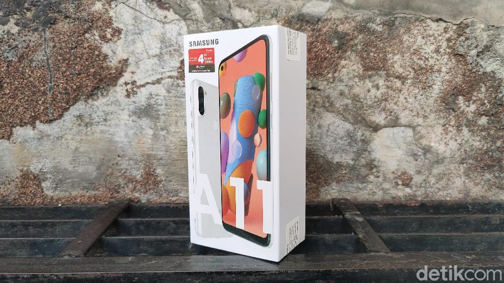 Unboxing Galaxy A11, Usung Empat Kamera Harga Rp 2 Juta
