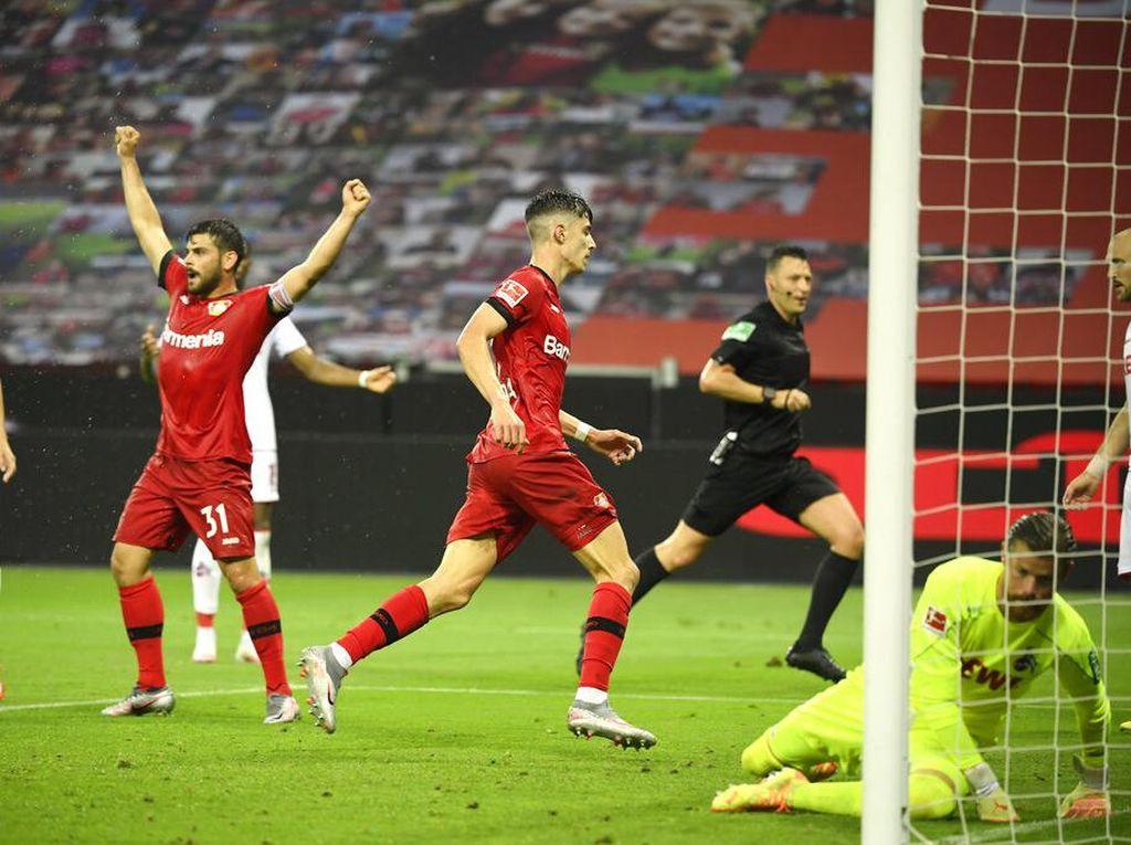Video Havertz Cetak Gol dan Assist, Leverkusen Menang