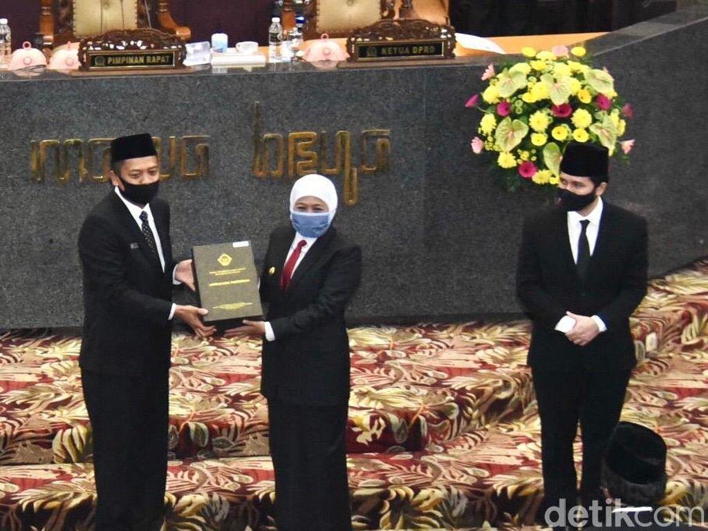 Jawa Timur Raih Opini WTP ke-9 Opini WTP dari BPK RI