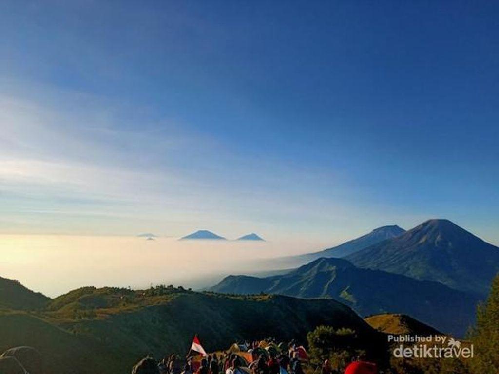 Gunung Prau dan Bukit Sikunir Diuji Coba Buka