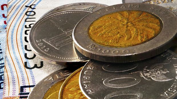 Macro Shot on indonesia currency