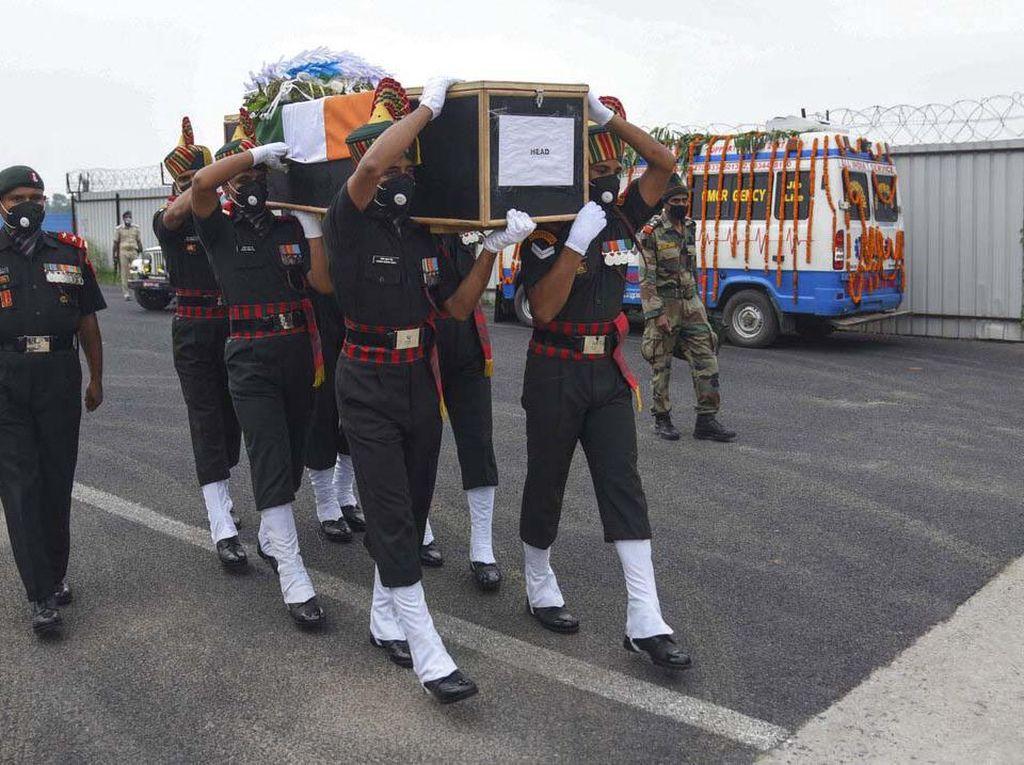 Potret Tentara India yang Tewas dalam Bentrok dengan China