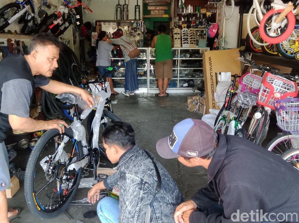 Jualan Sepeda Laris Manis di Tengah Pandemi