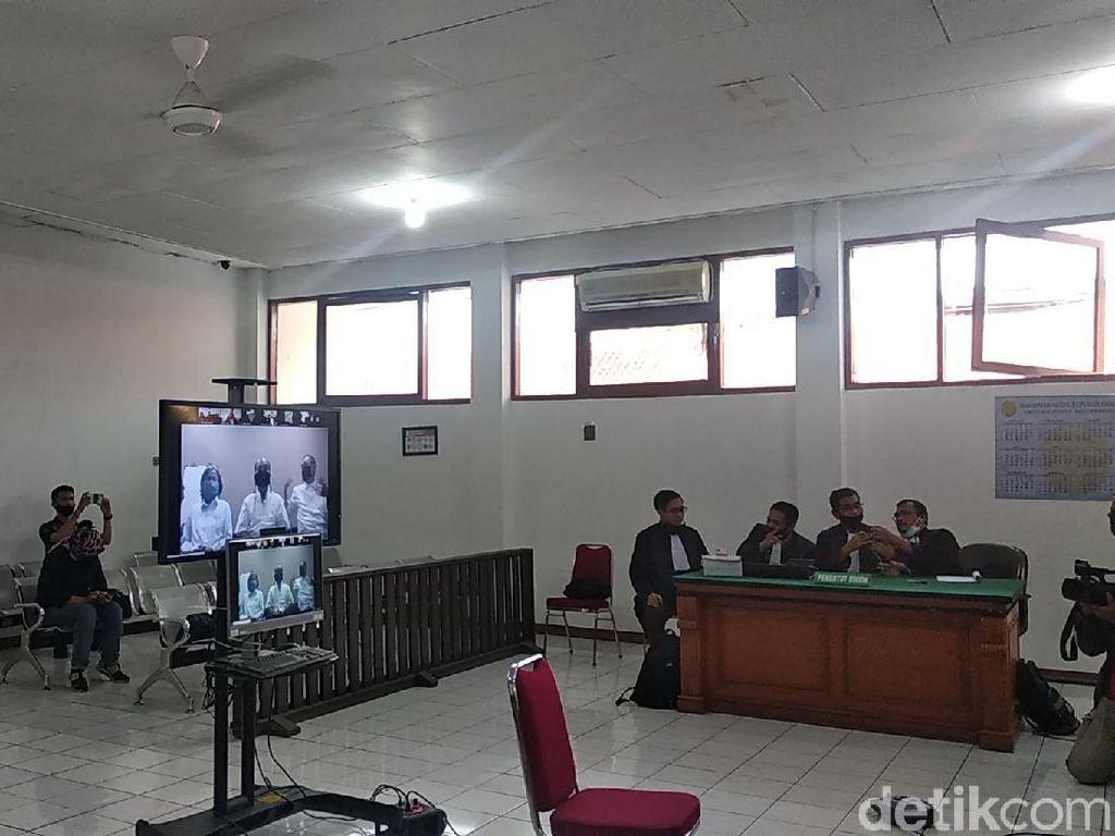 Video Suasana Sidang 3 Petinggi Sunda Empire di Kasus Berita Bohong