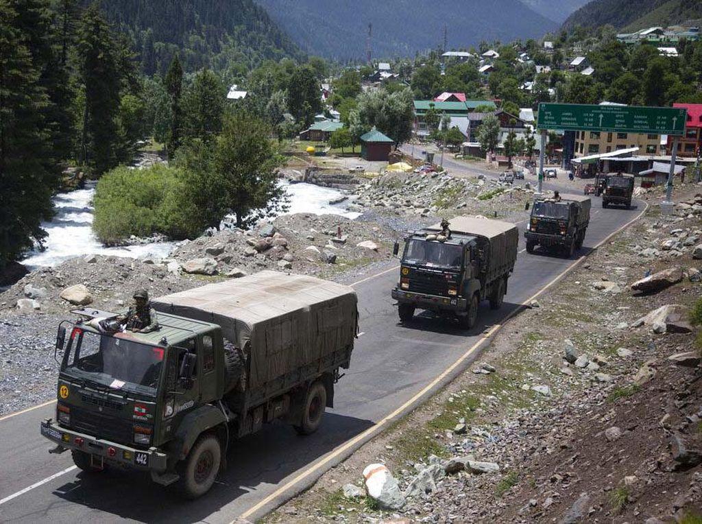 Suasana di Himalaya Usai Bentrok Tentara India-China