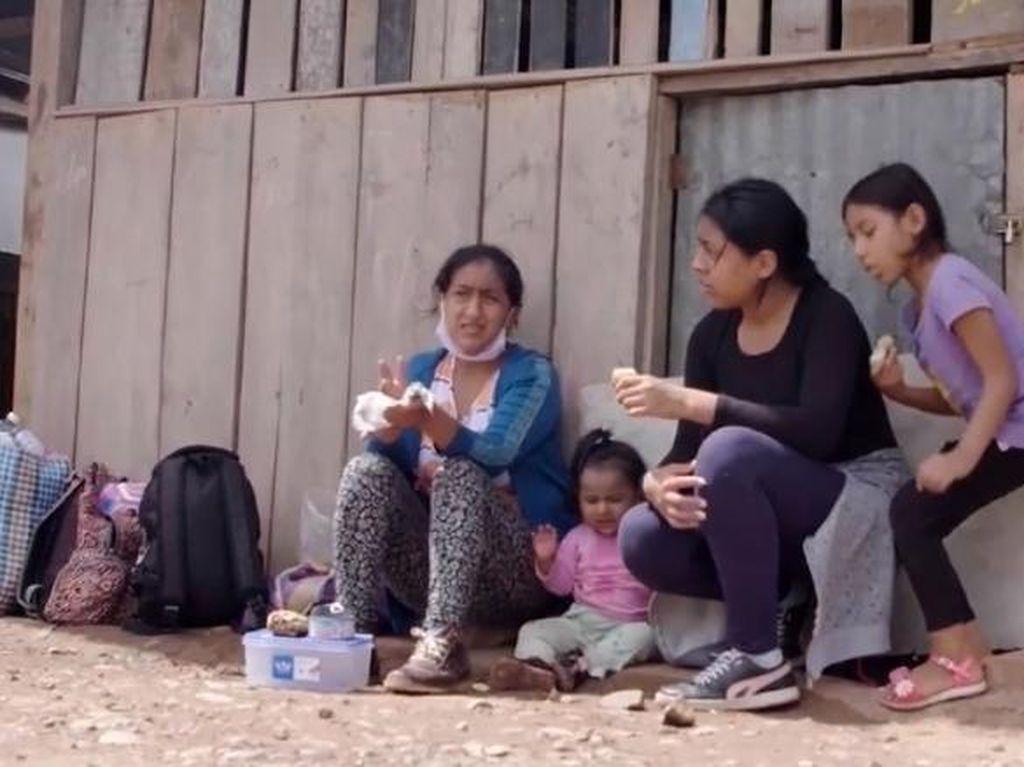 Kisah Pilu Ibu dan 3 Anak Mudik ke Desa Jalan Kaki 7 Hari Gara-gara Lockdown