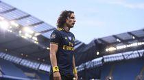 David Luiz Jadi Pengganti, Blunder, dan Diusir Wasit