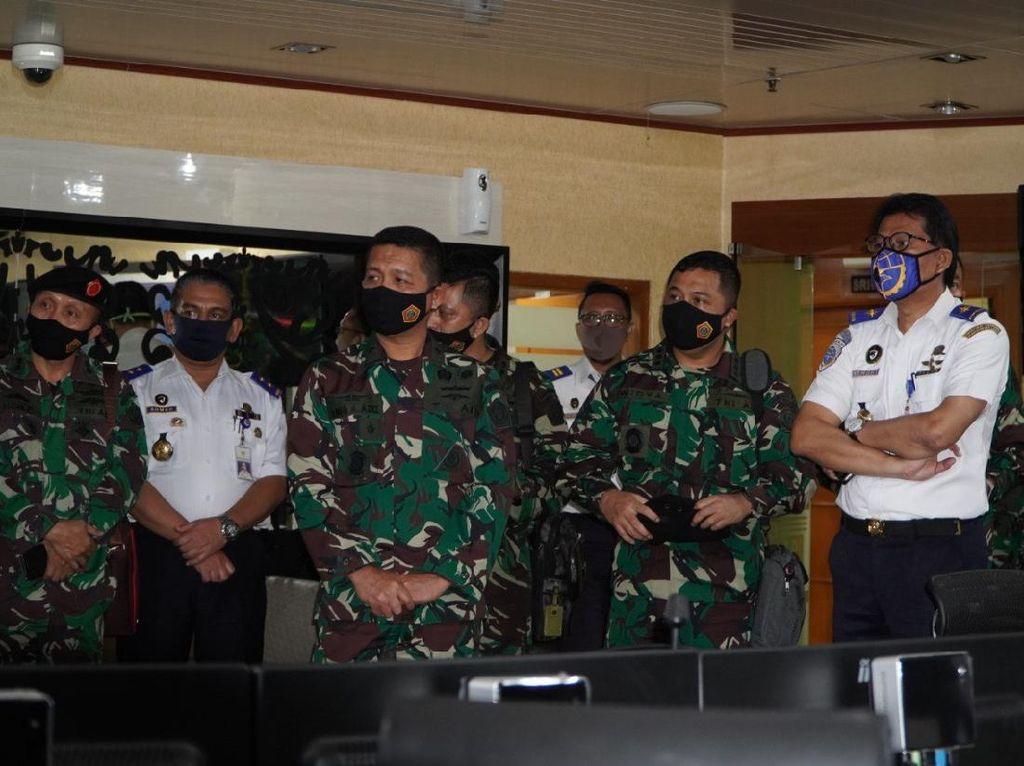 Berbagi Informasi Maritim, Kemenhub dan TNI Kerja Sama