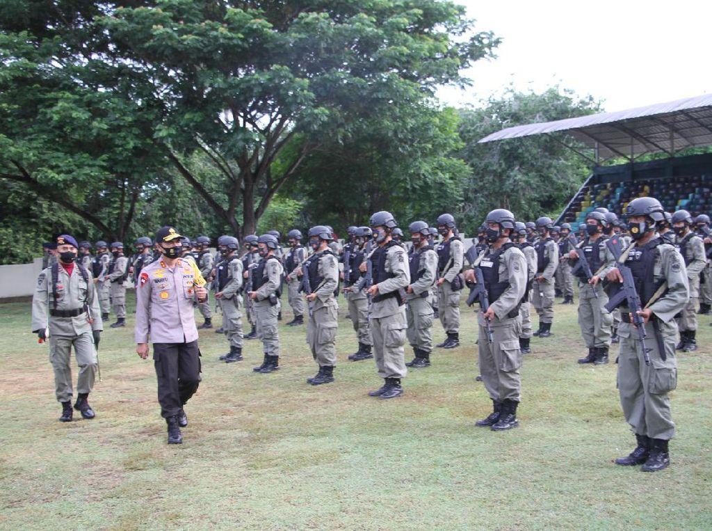 196 Personel Brimob Polda Aceh Dikirim ke Papua untuk Amankan Freeport