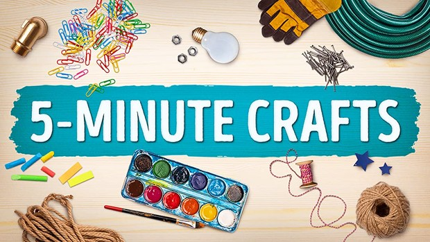 Tayangan untuk meningkatkan kreativitas dan inspirasi DIY bersama anak-anak.