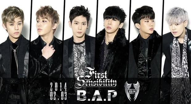 B.A.P boy grup dari agensi TS Entertainment