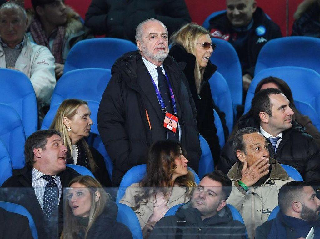 Presiden Napoli Sembuh dari COVID-19