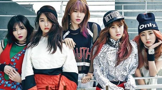 4Minute girl grup K-pop Idol yang bubar karena agensi
