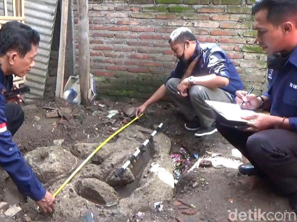 BPCB Trowulan Identifikasi Temuan Arca Kala di Tulungagung