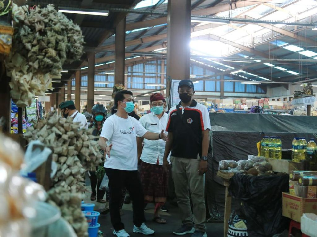 Penyebaran Virus Corona di Klungkung Meluas, Pasar Galiran Ditutup 3 Hari