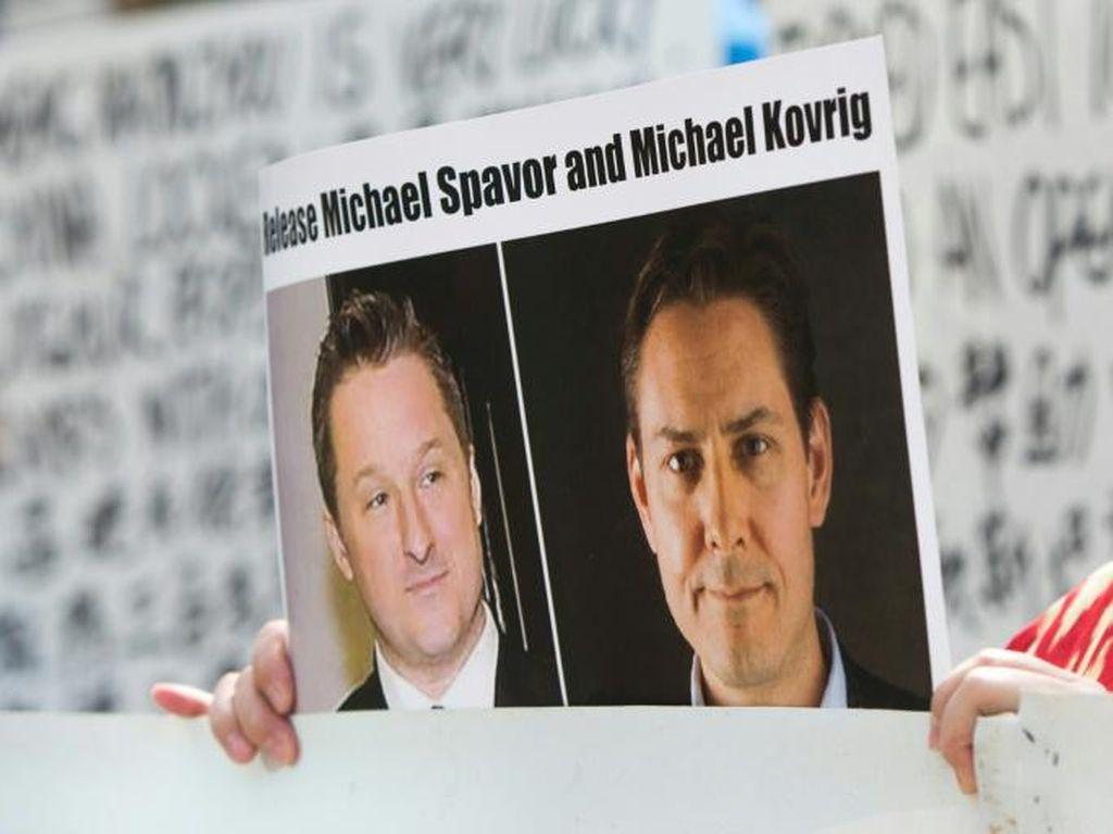 AS Tuntut China Bebaskan Dua Warga Kanada yang Didakwa Spionase