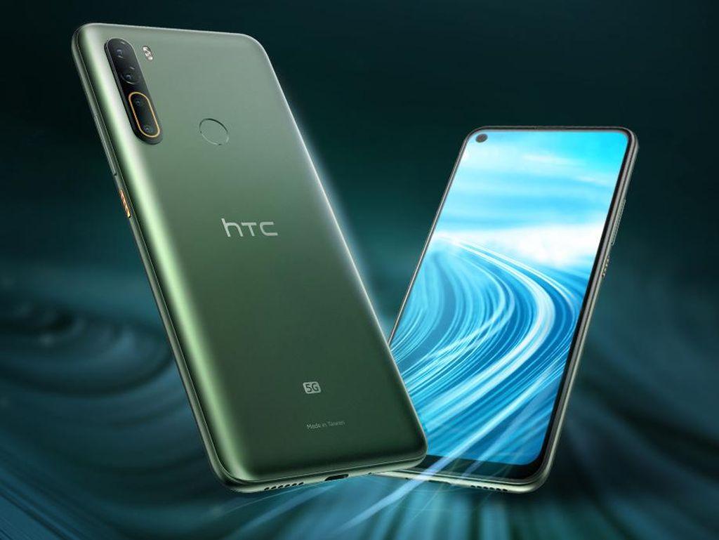Masih Eksis, HTC Rilis Ponsel 5G Baterai 5.000 mAh