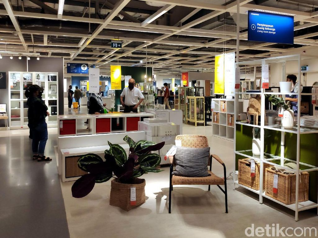 IKEA Alam Sutera Kembali Dibuka dengan Terapkan Protokol Kesehatan
