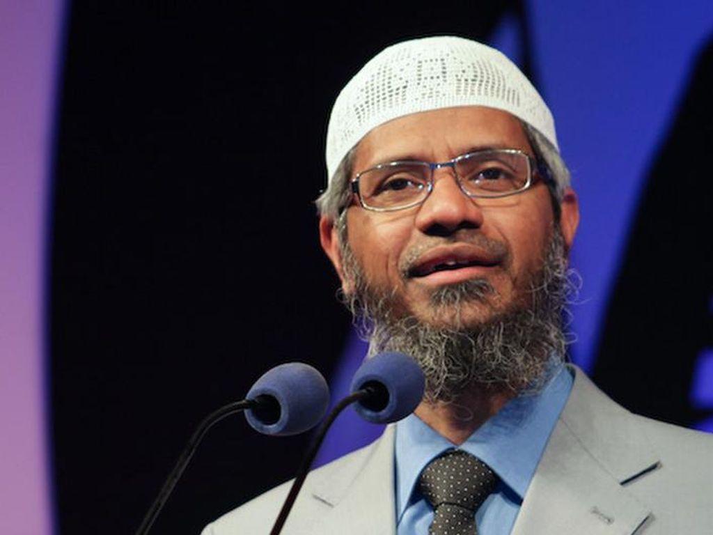 India Berusaha Ekstradisi Zakir Naik dari Malaysia