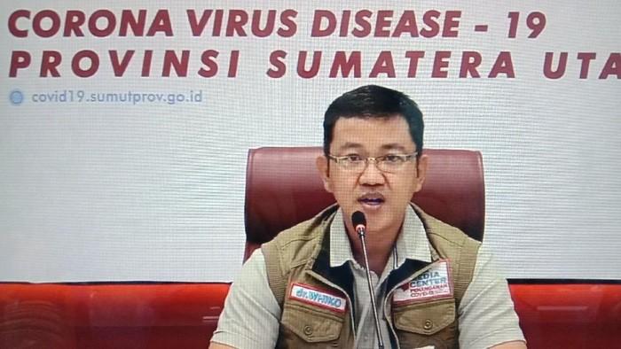 Jubir Gugus Tugas COVID-19 Sumut Mayor Kes Whiko Irwan