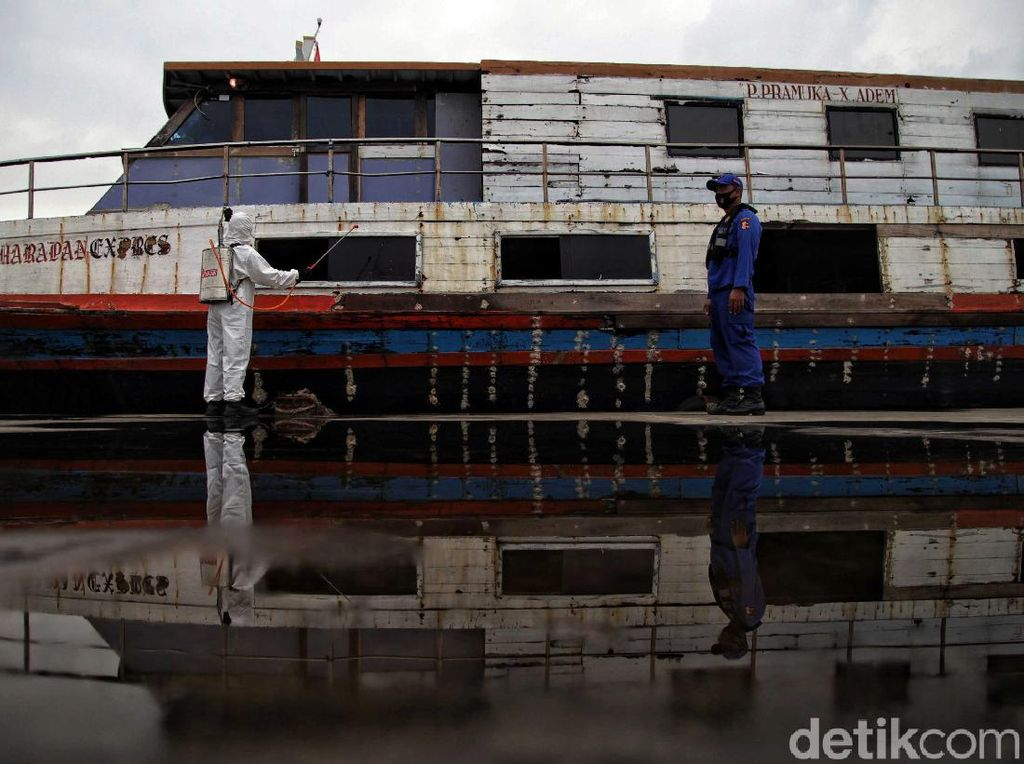 Kapal Penumpang di Kali Adem Siap Wara-wiri Saat New Normal