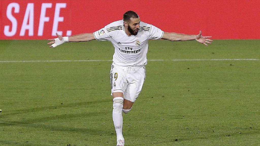 Mantap! Madrid Gulung Valencia 3-0