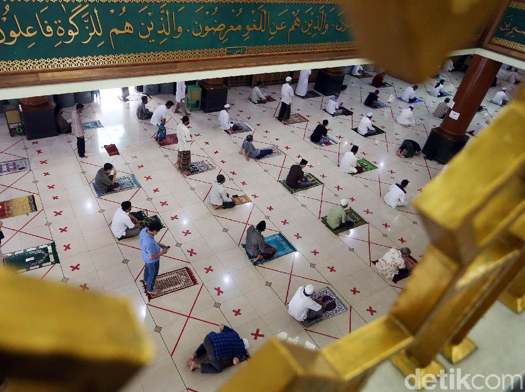Ada Masjid di DKI Jadi Klaster Corona, Ini Saran DMI Cegah Penularan
