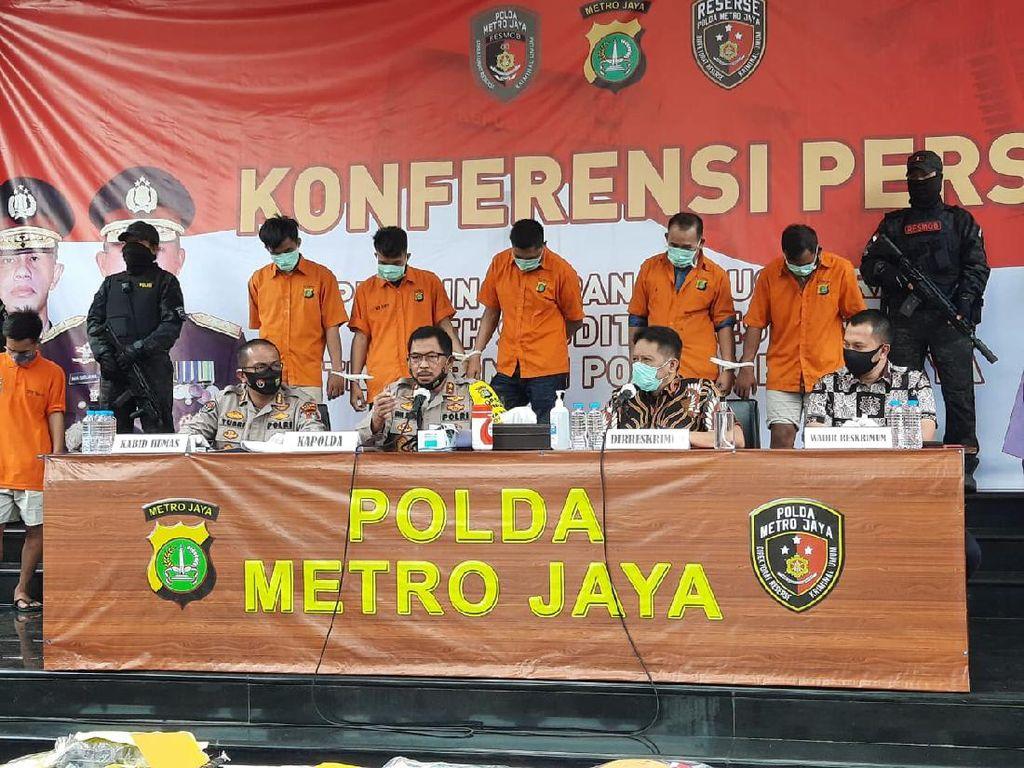 Kelompok Perampok Nasabah yang Viral di Depok Sudah Aksi di 9 TKP Sejak 2019