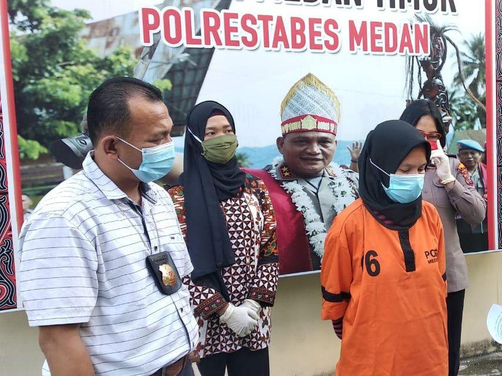 Bobol ATM Rekan Sekamar Saat Tangani Corona, Bidan di Medan Ditangkap Polisi