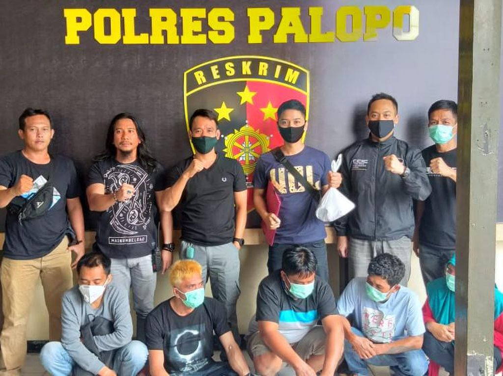 Polisi Tangkap 5 Pelaku Sindikat Penipuan Online di Palopo dan Luwu Utara