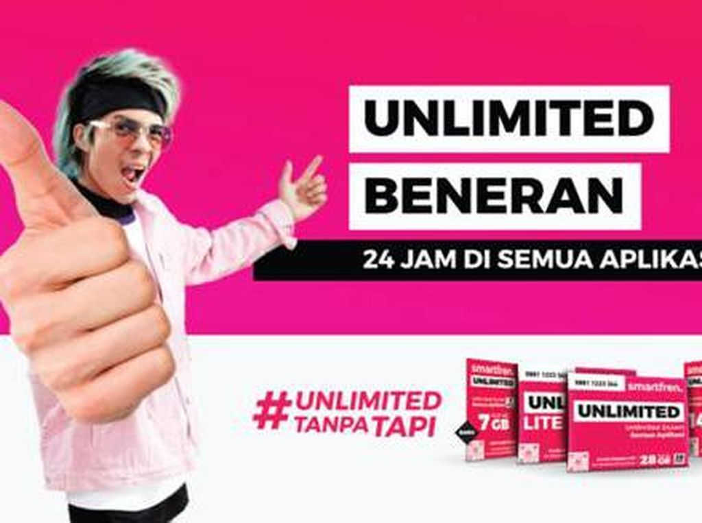 Temani #DiRumahAja, Smartfren Tawarkan Paket Unlimited Tanpa Tapi