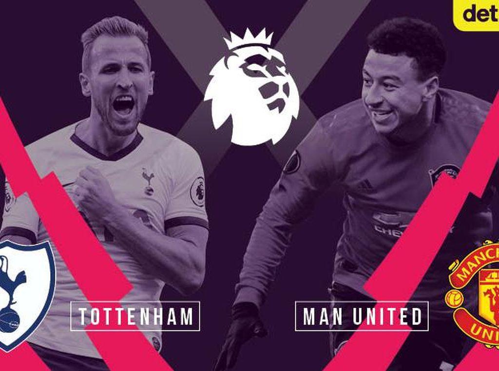 Prediksi Big Match Liga Inggris, Spurs VS Manchester Utd