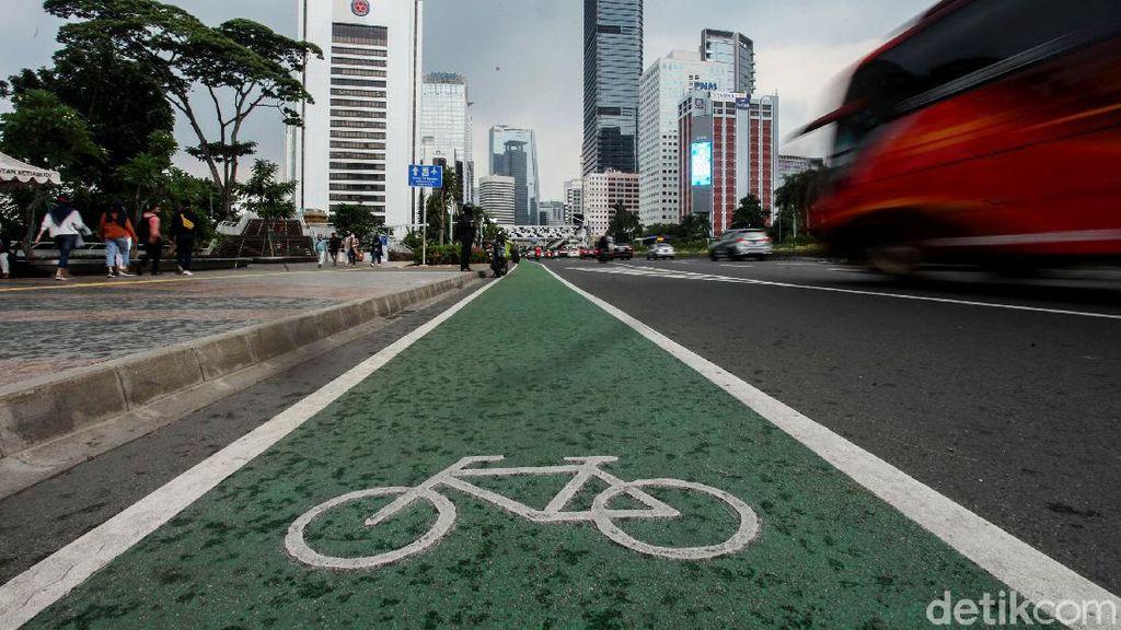 Waduh! Goweser yang Keluar Jalur Sepeda Bisa Kena Tilang Lho
