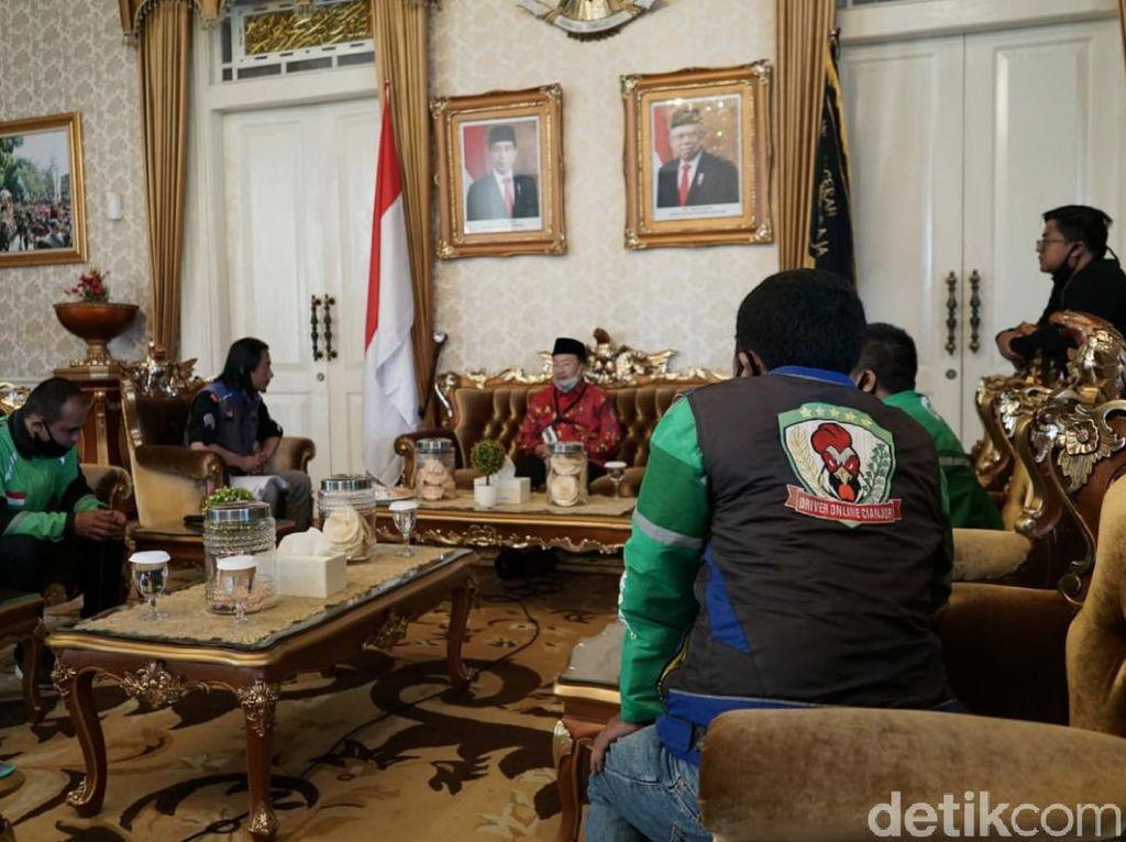 Driver Ojol di Cianjur Siap Mengaspal, Ini Syaratnya