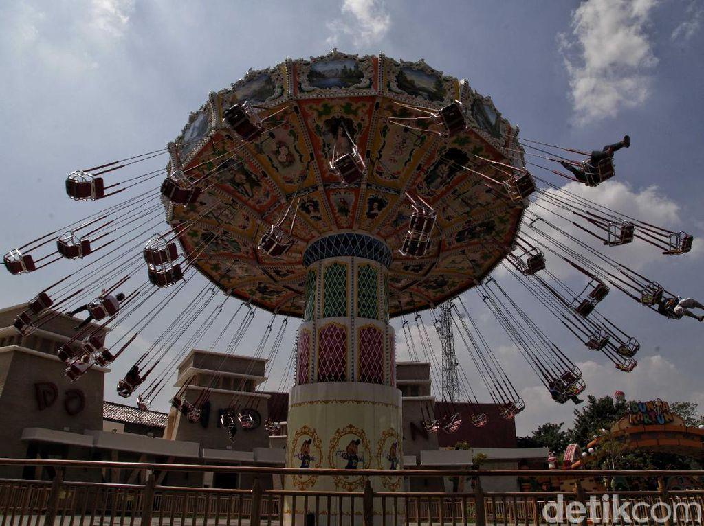 Mal dan Taman Rekreasi Jakarta Masih Sepi Awal Buka Kembali