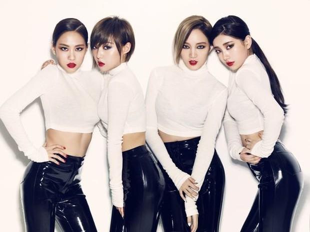 Miss A Girl grup dari agensi JYP Entertainment