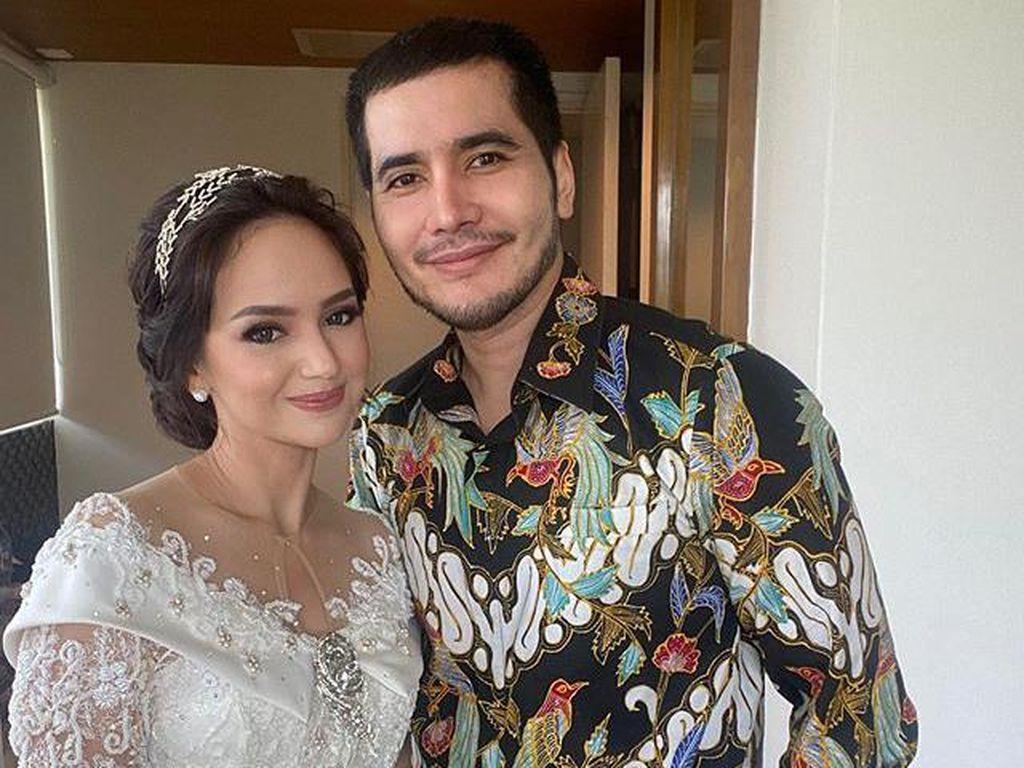 Angelica Simperler Lega Resmi Jadi Istri Rico Hidros Daeng