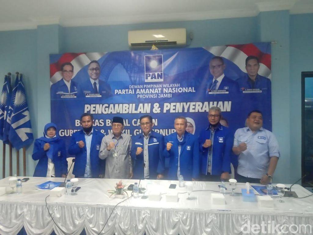 Gubernur Jambi Fachrori Umar Calonkan Diri di Pilgub 2020