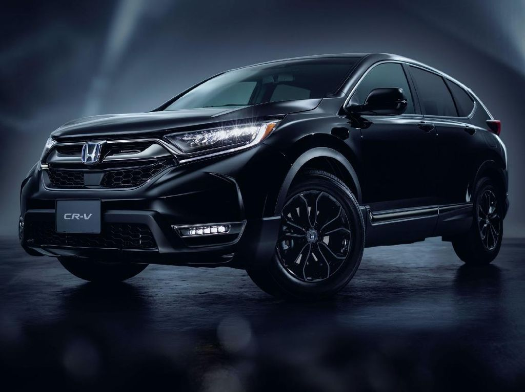 Honda CR-V Black Edition Tampil Lebih Gahar