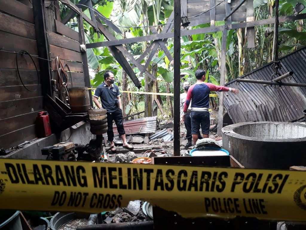 Ledakan Picu Kebakaran Pabrik Tahu di Bone, Pemilik-Karyawan Terluka
