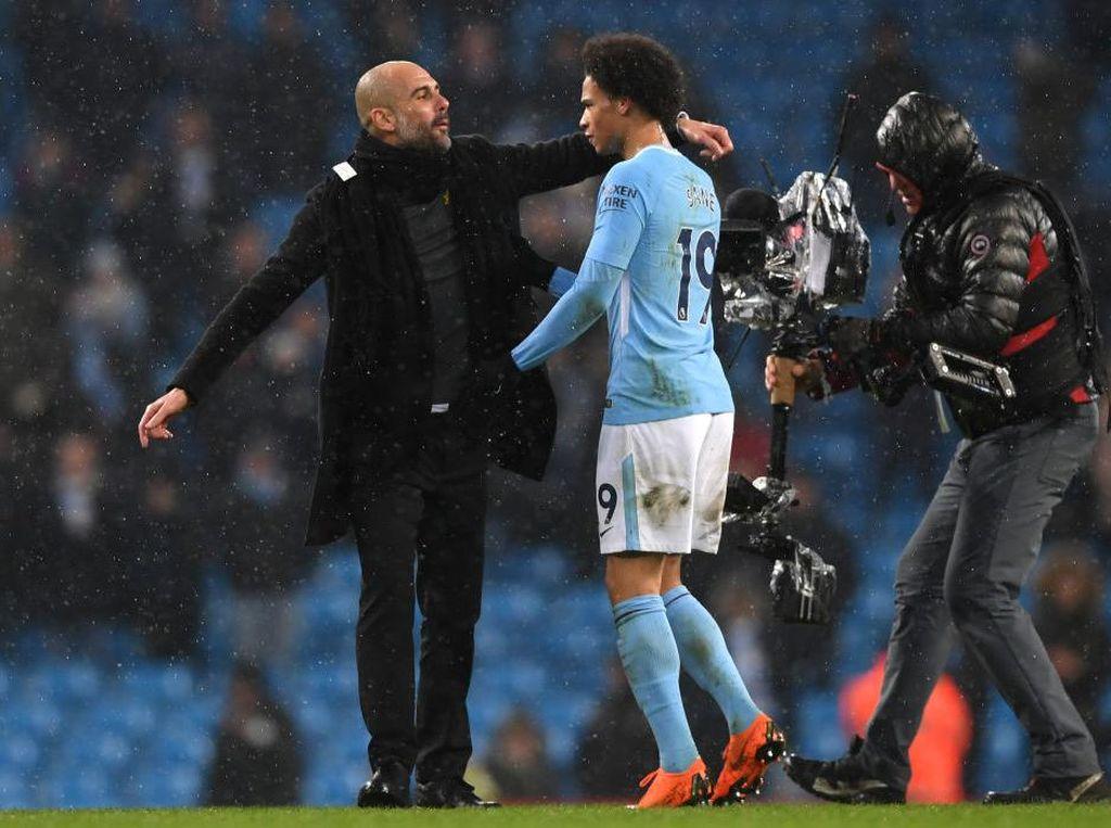 Guardiola Kecewa Leroy Sane Tak Perpanjang Kontrak