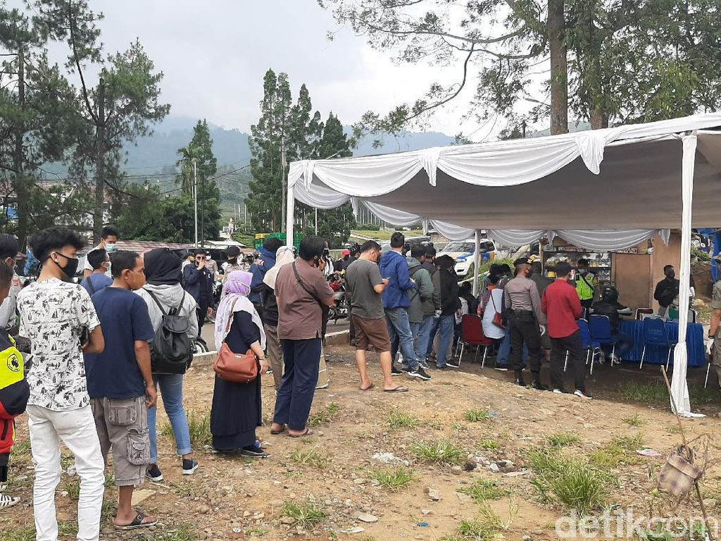 Rapid Test Massal di Kawasan Puncak, 32 Orang Reaktif