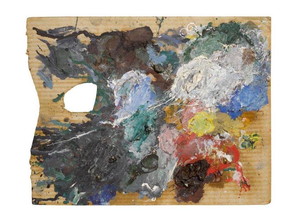 Palet Cat Langka Seniman Pablo Picasso Terjual Capai Rp 1 M