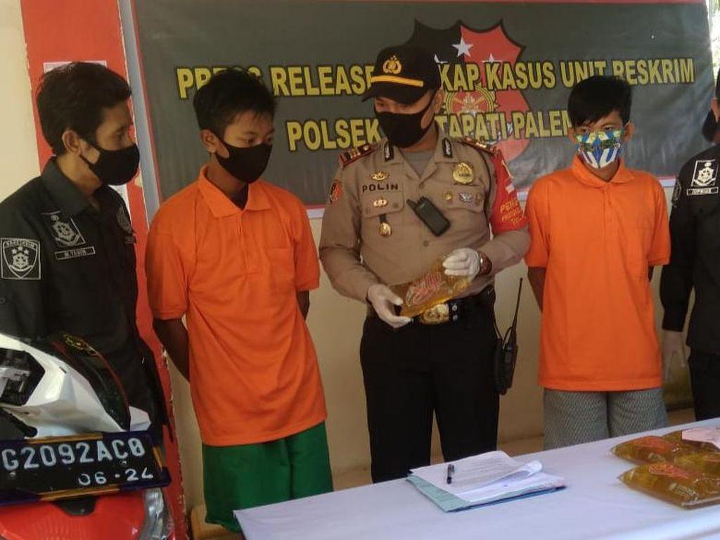 Polisi Tangkap 2 Bajing Loncat yang Bikin Resah di Palembang, 3 Masih Diburu