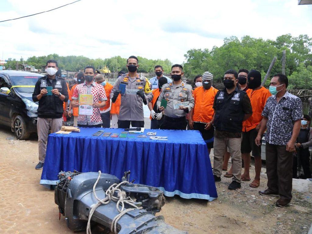 Polres Dumai Bongkar Sindikat Jasa Jemput Pulang TKI Ilegal dari Malaysia