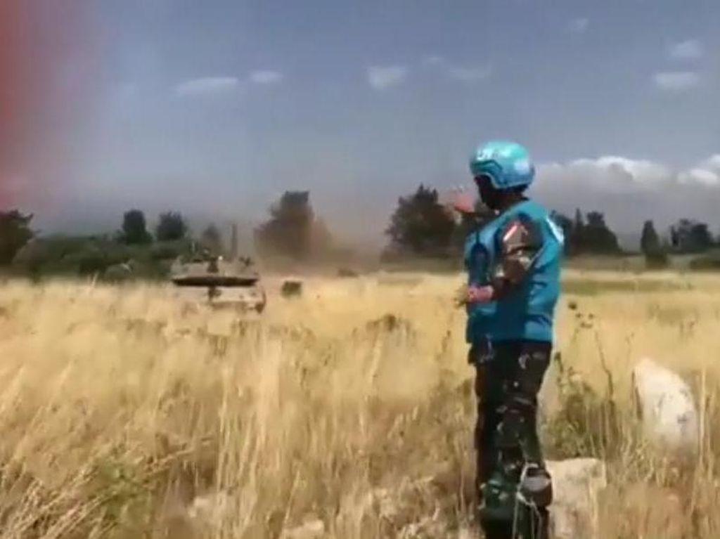 Video Aksi Prajurit TNI Hadang Tank Israel