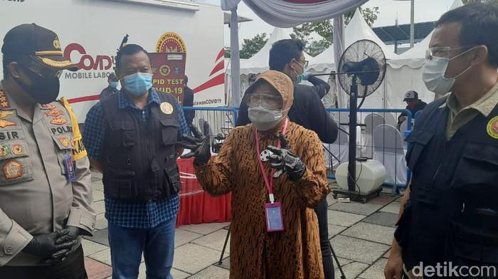 wali kota risma dampingi Staf Khusus Kepala BIN, Mayjen TNI Dr Suyanto