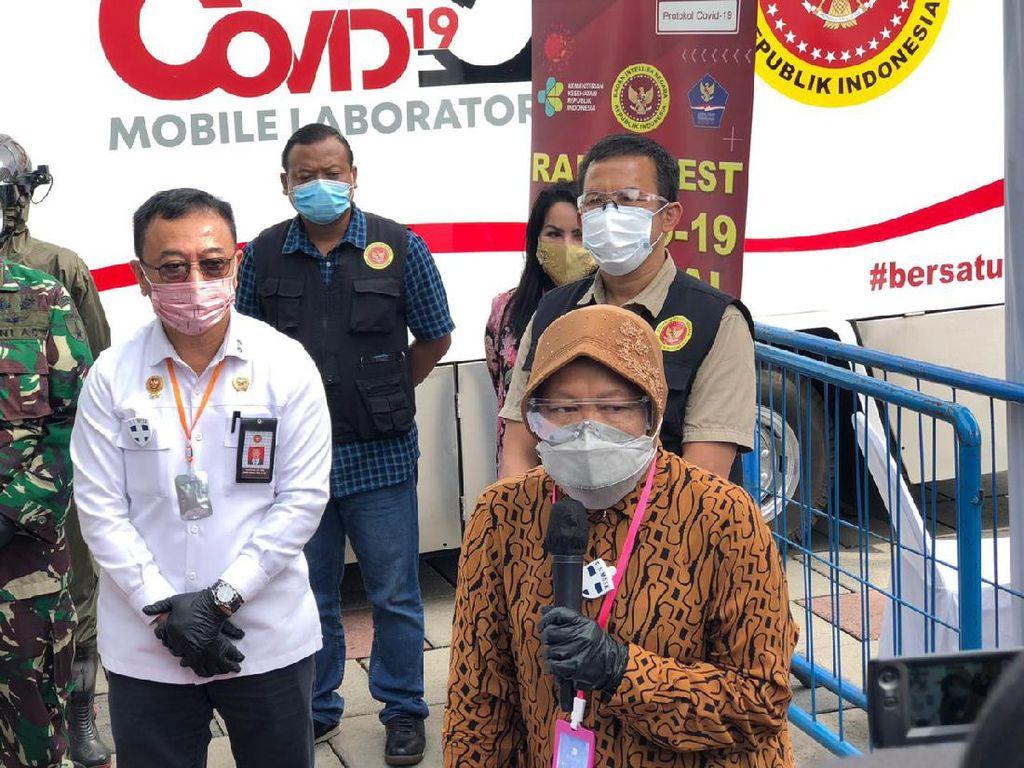 Hari Terakhir di Surabaya, BIN Temukan 4.603 Reaktif,1.702 Positif COVID-19