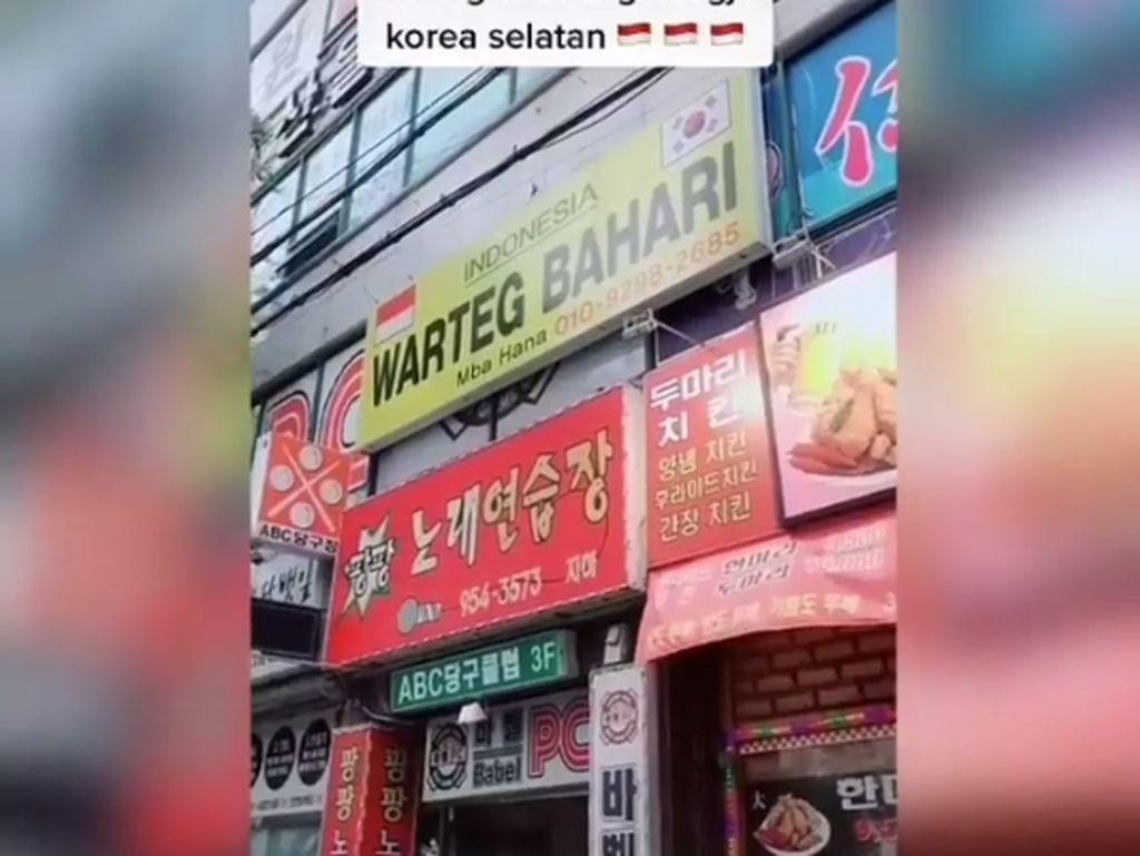 Keren! Warteg Bahari di Korea Jual Ayam Geprek hingga Siomay