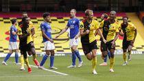 Duel Sengit Watford Vs Leicester, Dua Gol Tercipta di Akhir Laga